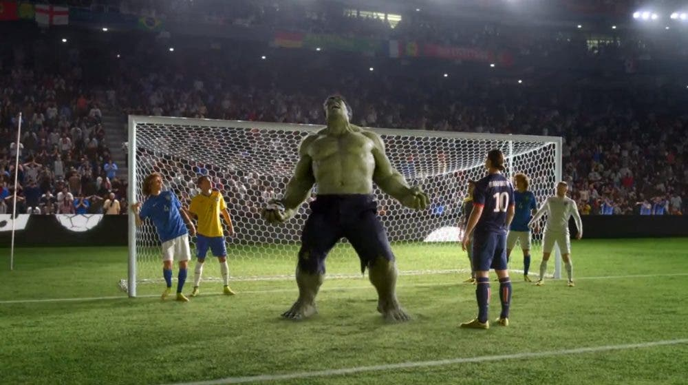 Hulk en el nuevo anuncio Nike FIFA World Cup 2014