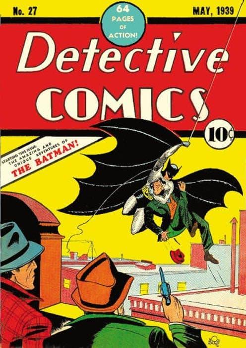 Portada de Detective comics Nº-27