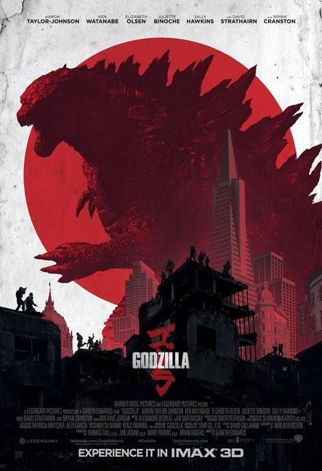 Póster IMAX de 'Godzilla'