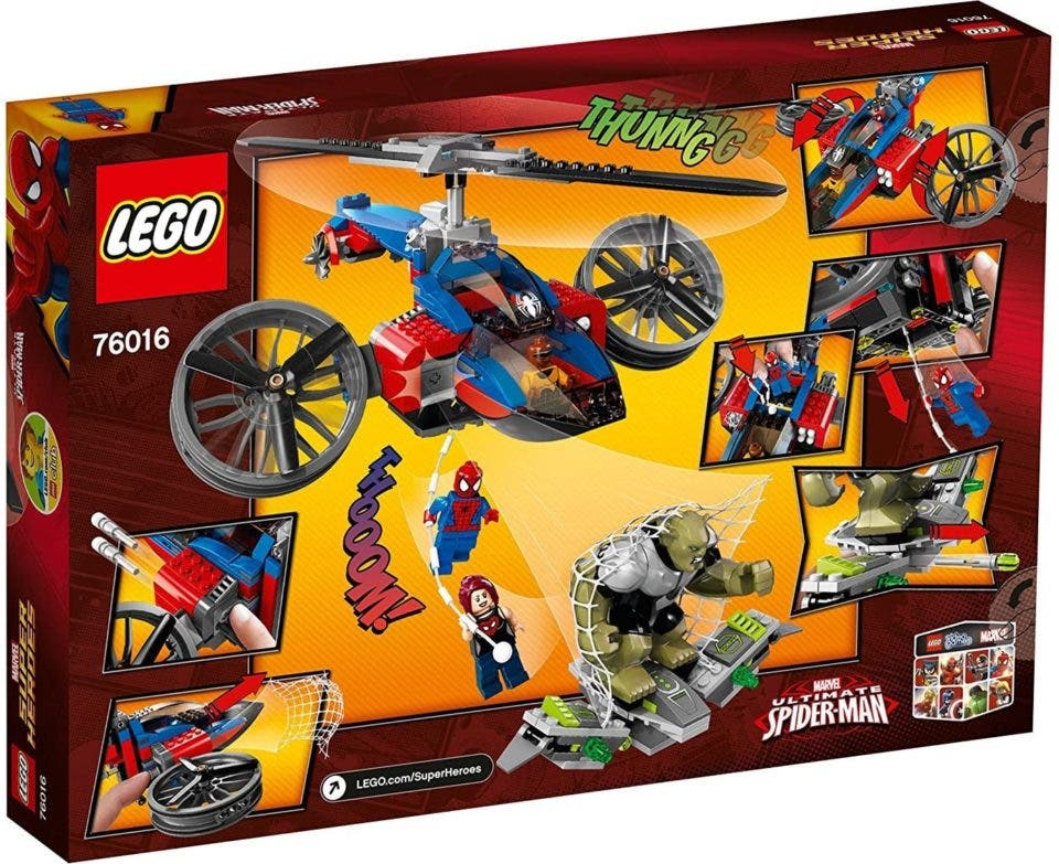 Spider-Man lego marvel heroes