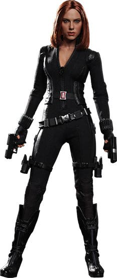 Figura Black Widow  the winter soldier Hot Toys