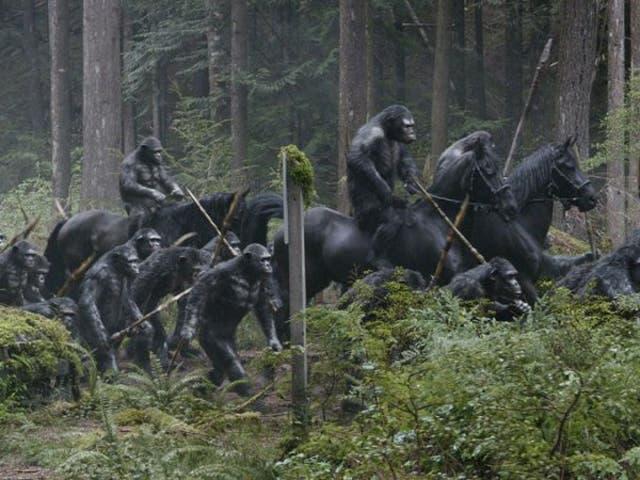 Fotograma de 'El amanecer del Planeta de los Simios'
