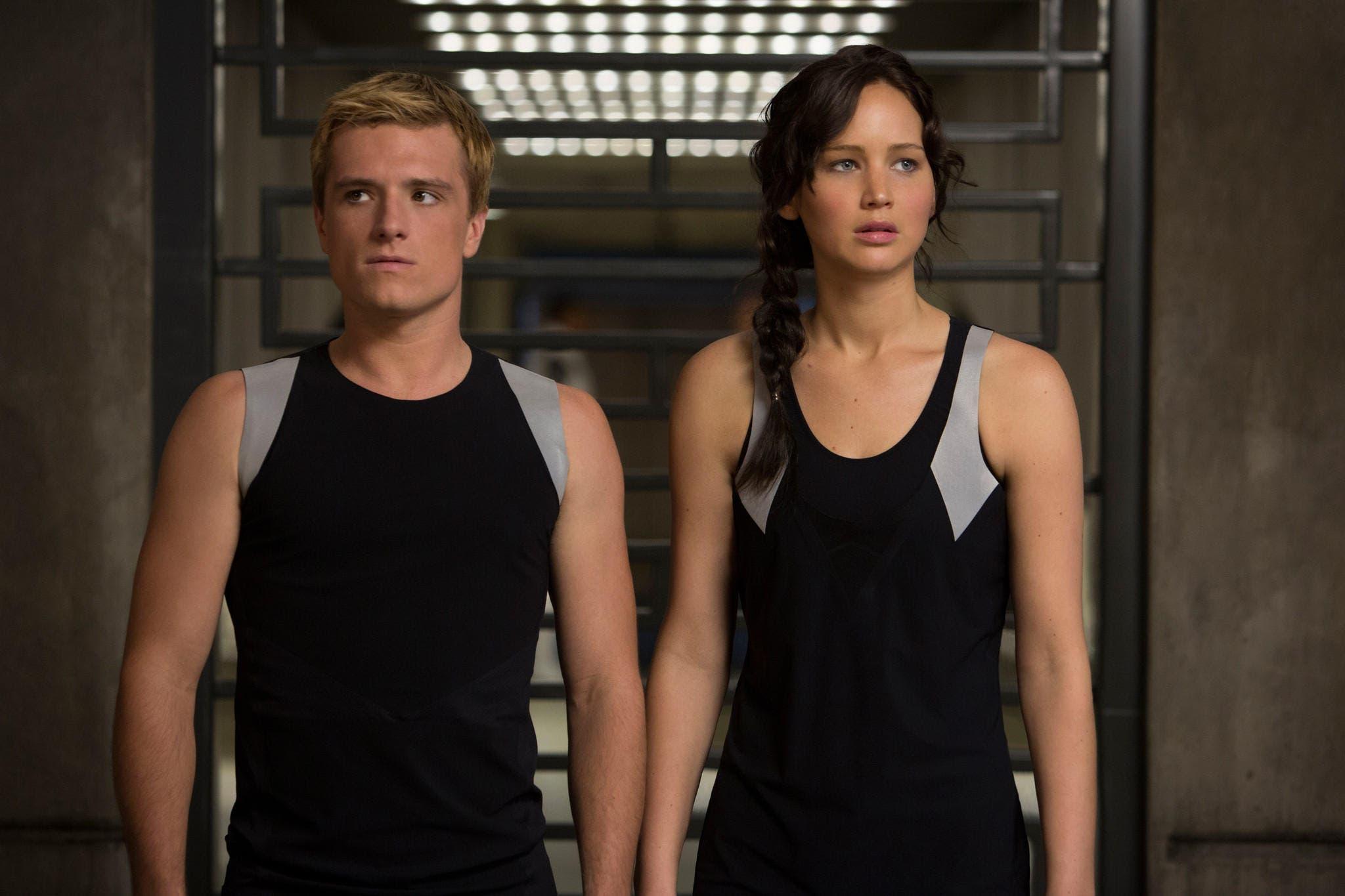 Josh Hutcherson y Jennifer Lawrence, ganadores mejor actor y actriz por 'Los Juegos del Hambre; En llamas'