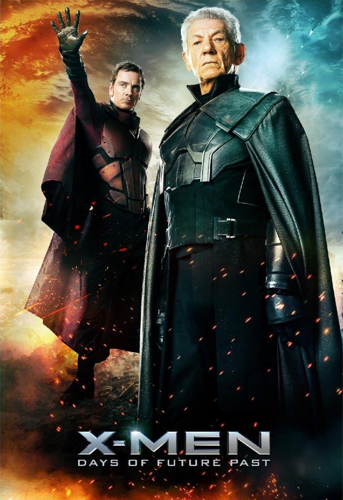 Magneto pasado y presente en x-men dias del futuro pasado