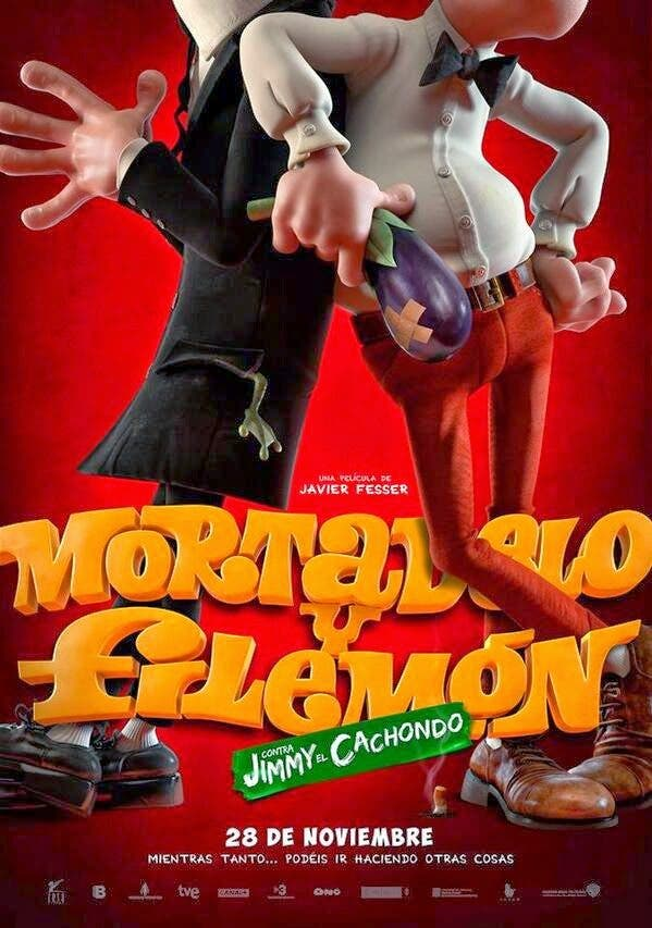 mortadelo y filemon contra Jimmy el Cachondo