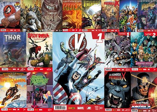 Novedades Panini Marvel 04-04-201