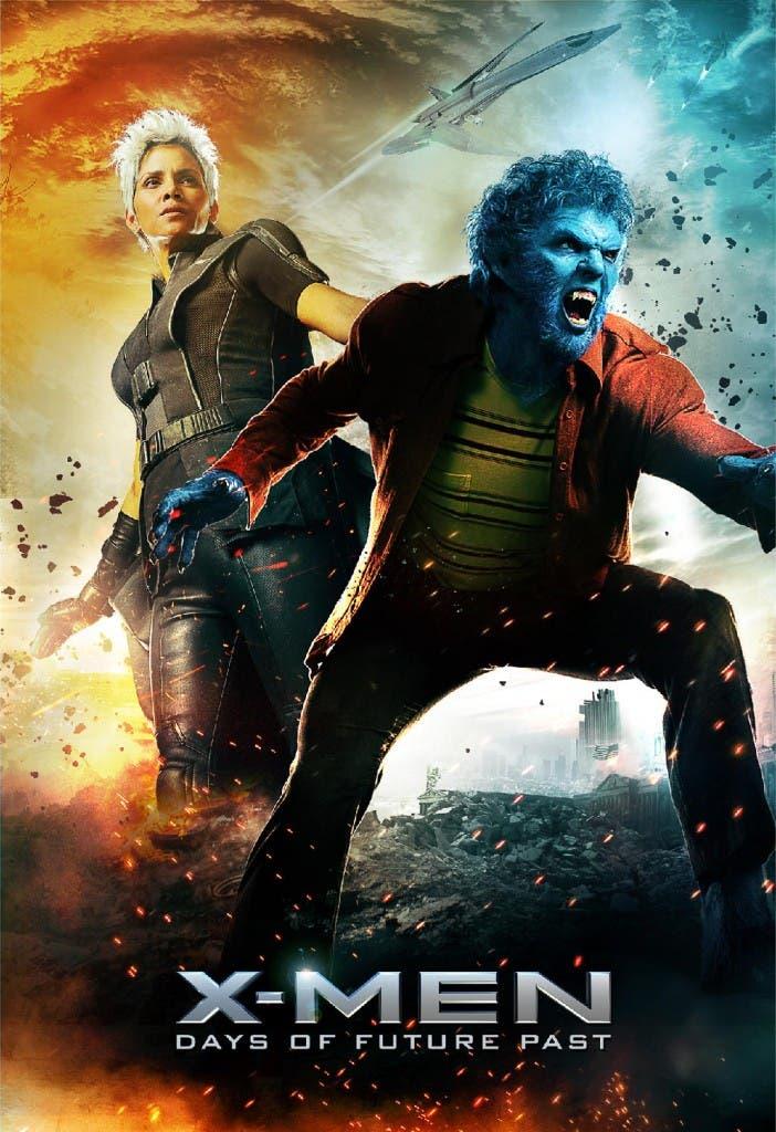 Tormenta y Bestia en ' X-men días del futuro pasado'