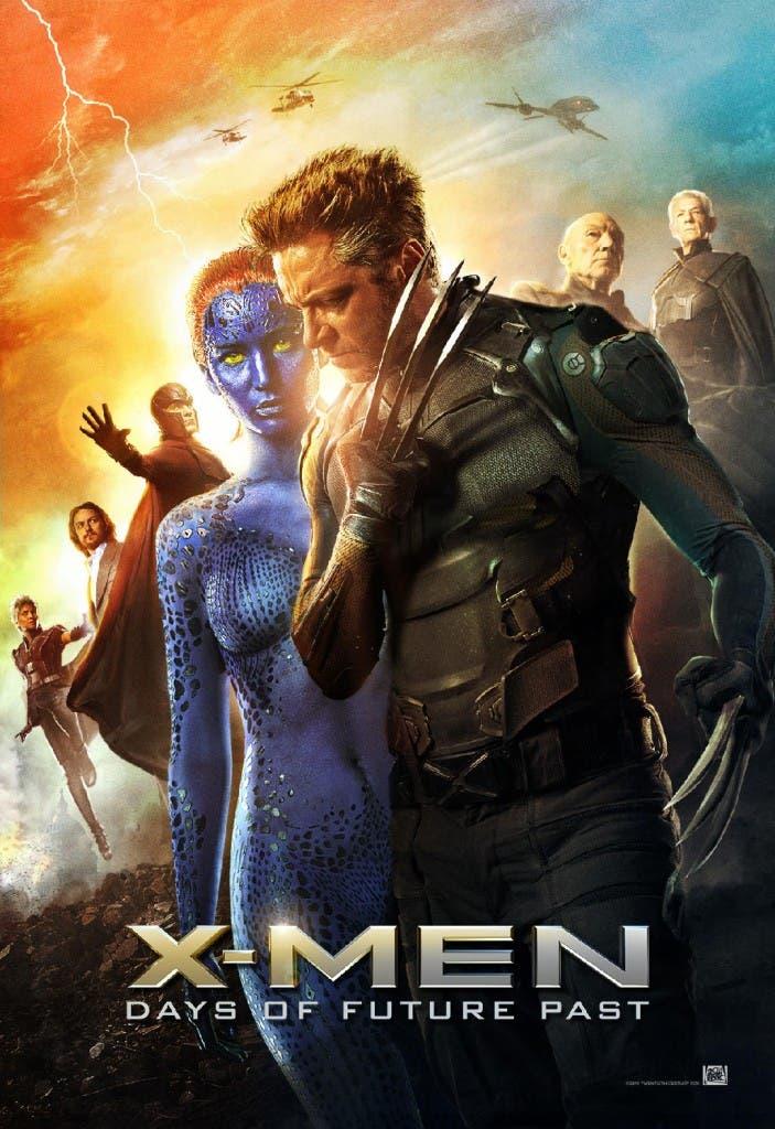 Póster de grupo en 'X-men días del futuro pasado'