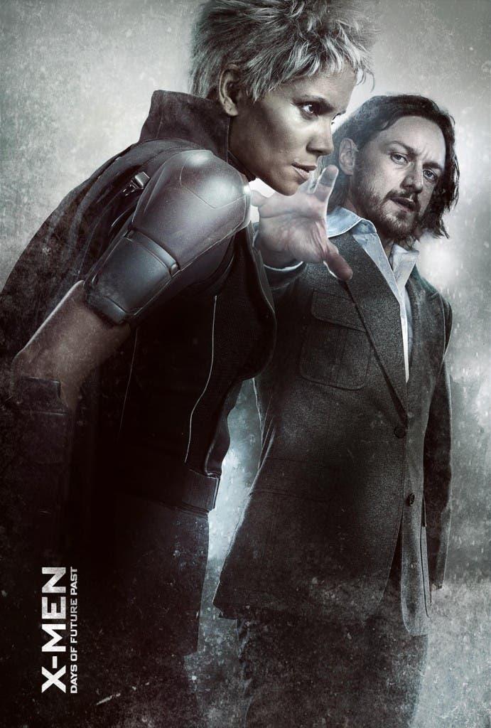 Tormenta y Charles Xavier en 'X-men: Días del futuro pasado'