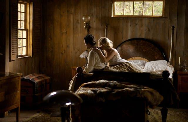 Bradley Cooper y Jennifer Lawrence en Serena