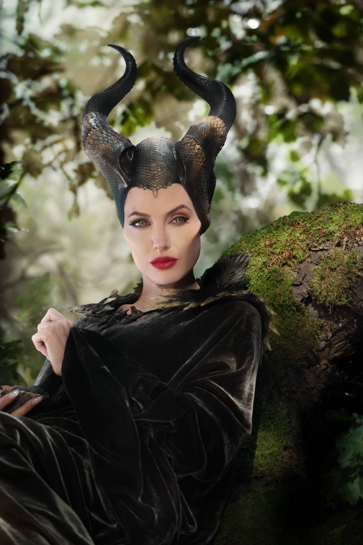 Angelina Jolie en 'Maléfica'