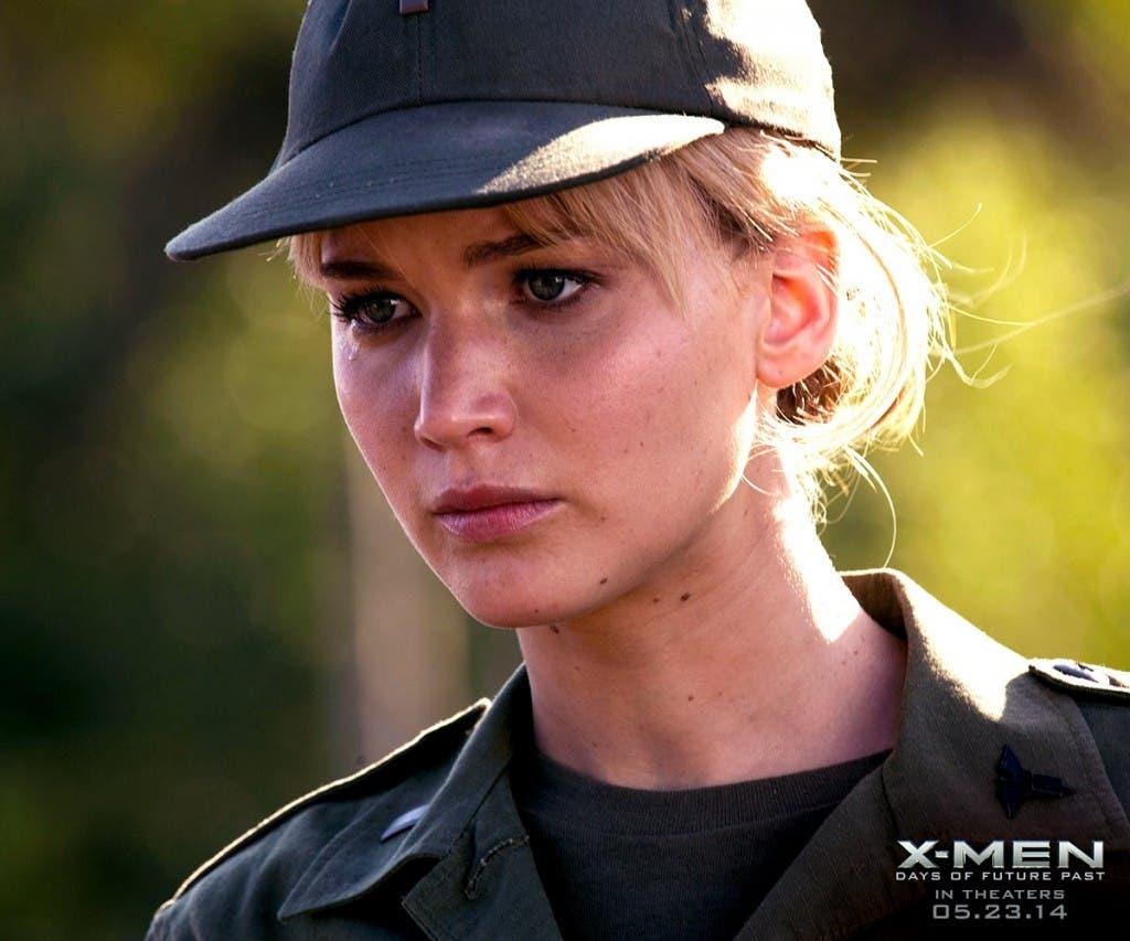 Jennifer Lawrence es Mística en X-Men: Días del futuro pasado