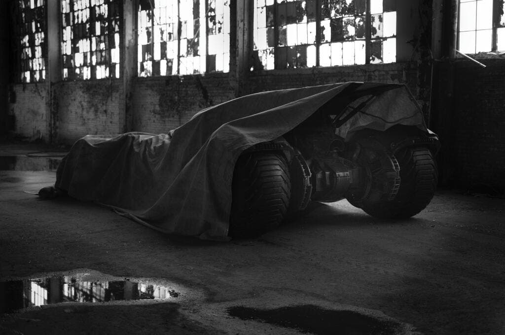 Batmovil de Batman vs Superman Zack Snyder