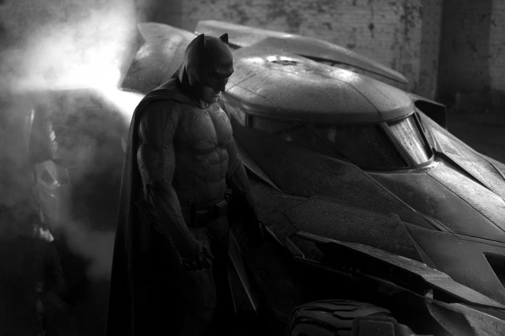 Ben Affleck como 'Batman en Batman v Superman: Dawn of Justice'