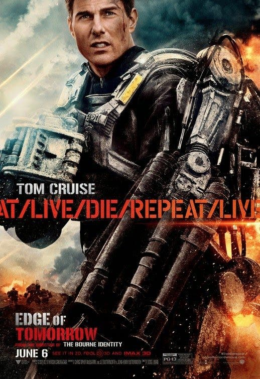 Edge of Tomorrow All You Need is Kill Poster