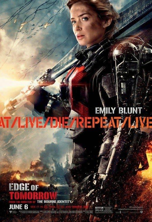 Al filo del mañana Emily Blunt