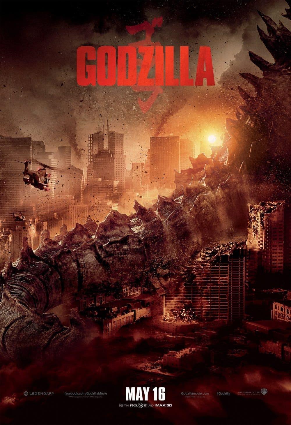 estrenos de cine 'Godzilla'