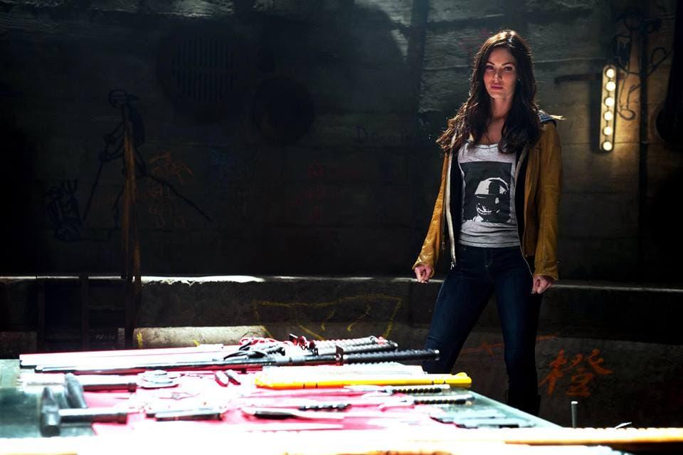 Megan Fox en 'Ninja Turtles'