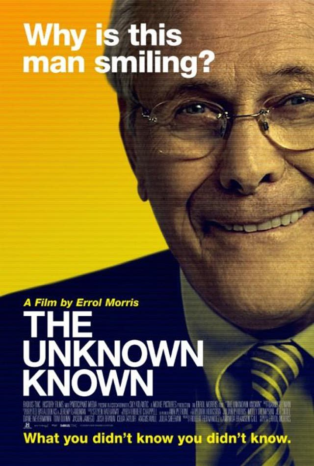 The Unknown Known The Life and Times of Donald Rumsfeld