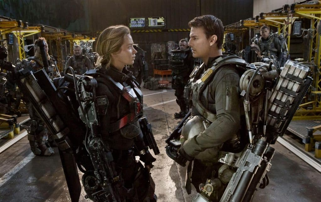 Emily Blunt y Tom Cruise protagonizan 'Al filo del mañana'