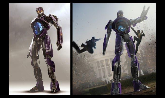 Concept art Centinela X-Men: Días del futuro Pasado