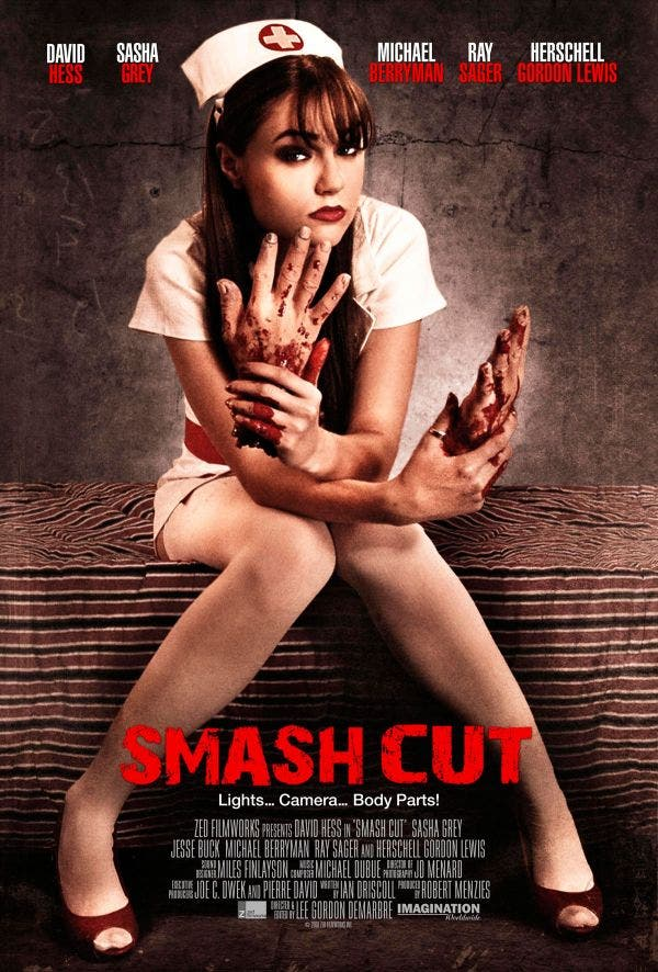 Sasha Grey Smash Cut