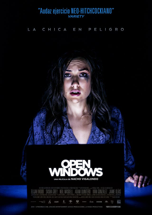 Sasha Grey protagoniza Open Windows