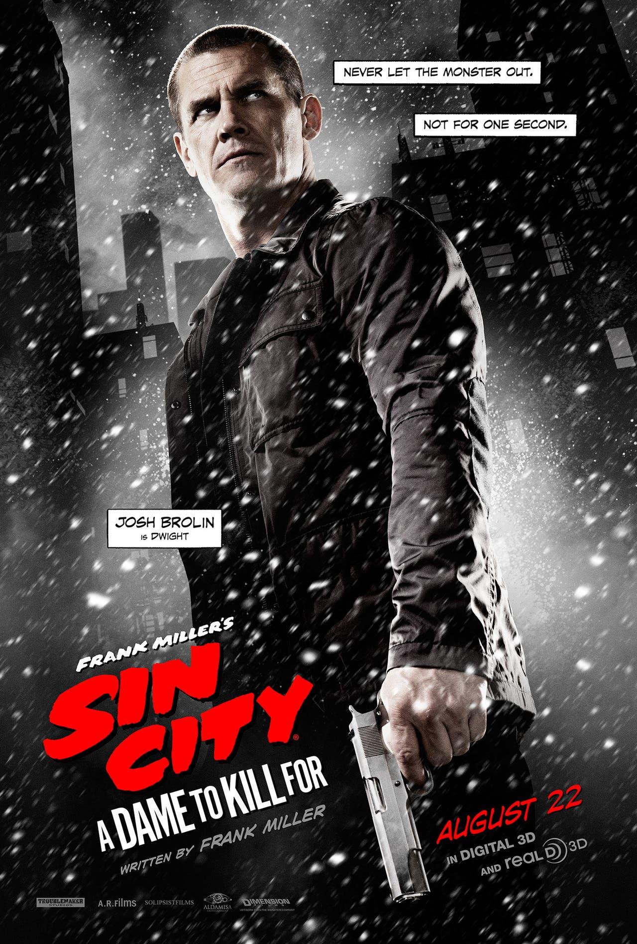 Josh Brolin es Dwight 'Sin City: Una dama por la que matar'