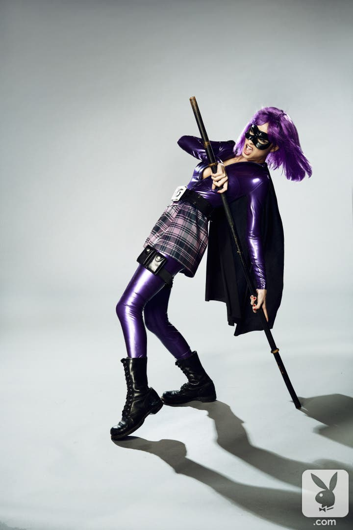 Pamela Horton es Hit Girl