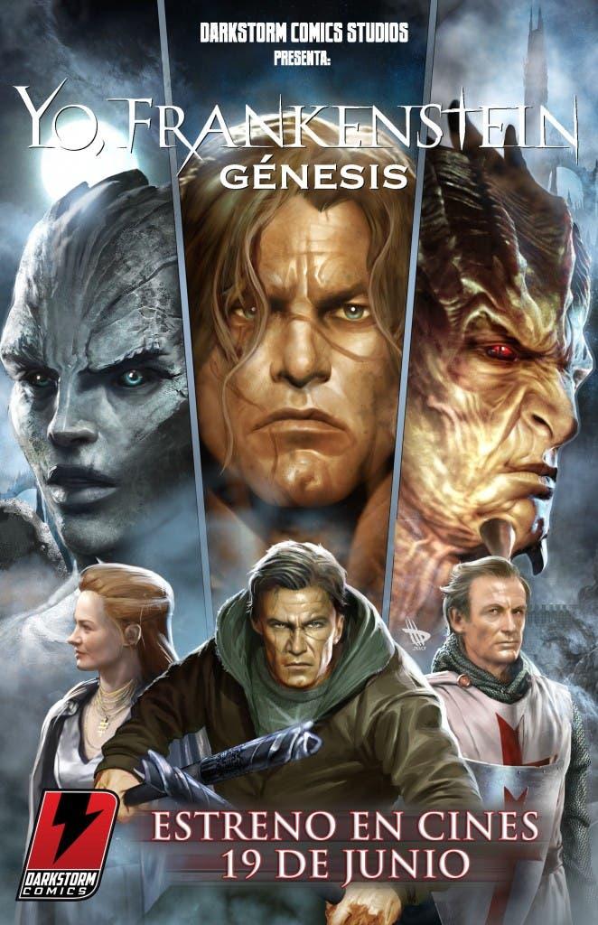 Portada 'Yo, Frankenstein: Génesis'