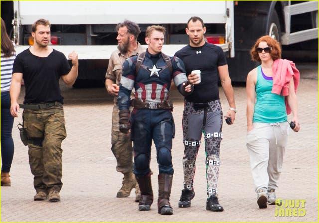 Rodaje de Los Vengadores: La era de Ultron