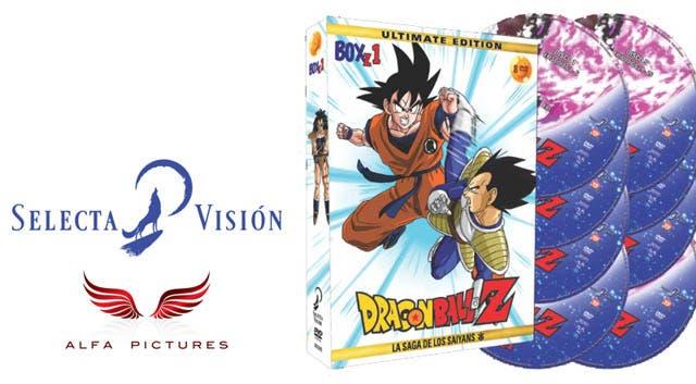 Dragon Ball Z la saga Saiyans