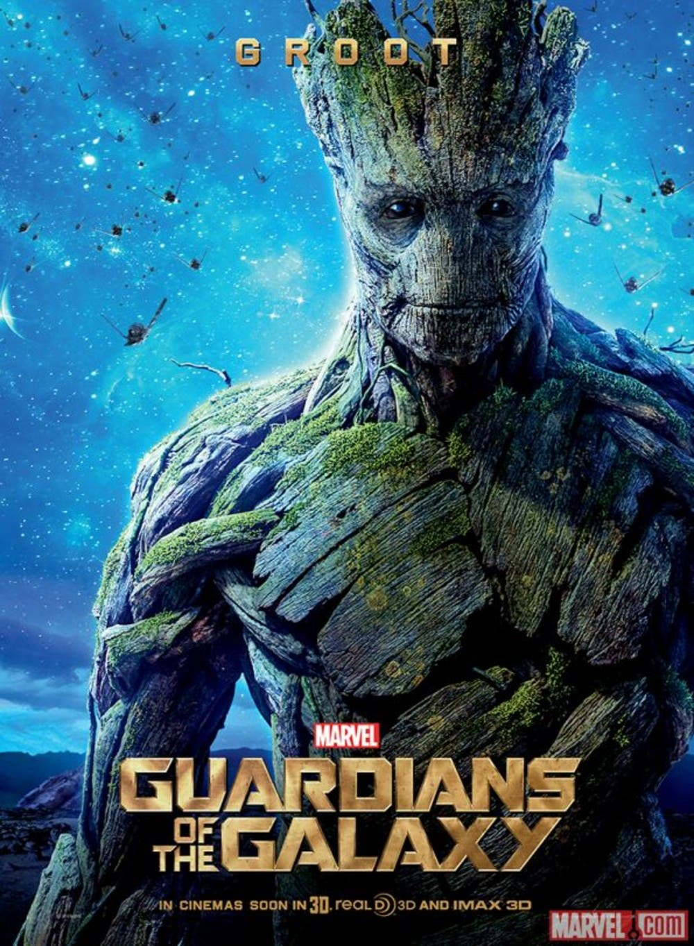 Poster de Groot Guardianes de la Galaxia