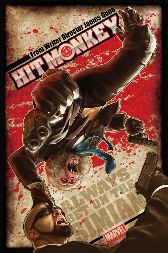 poster fan Hit monkey
