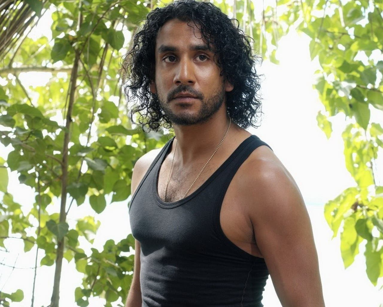Naveen Andrews en Lost