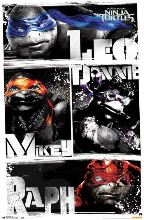 TEENAGE MUTANT NINJA TURTLES poster 2