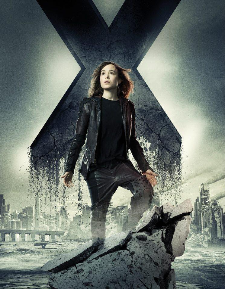 Ellen Page poster de X-men: Días del futuro pasado