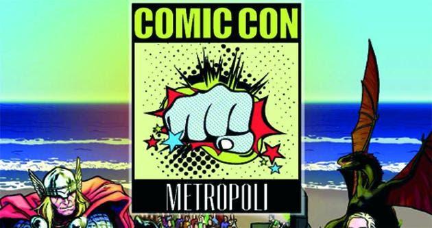 metropoli comic con