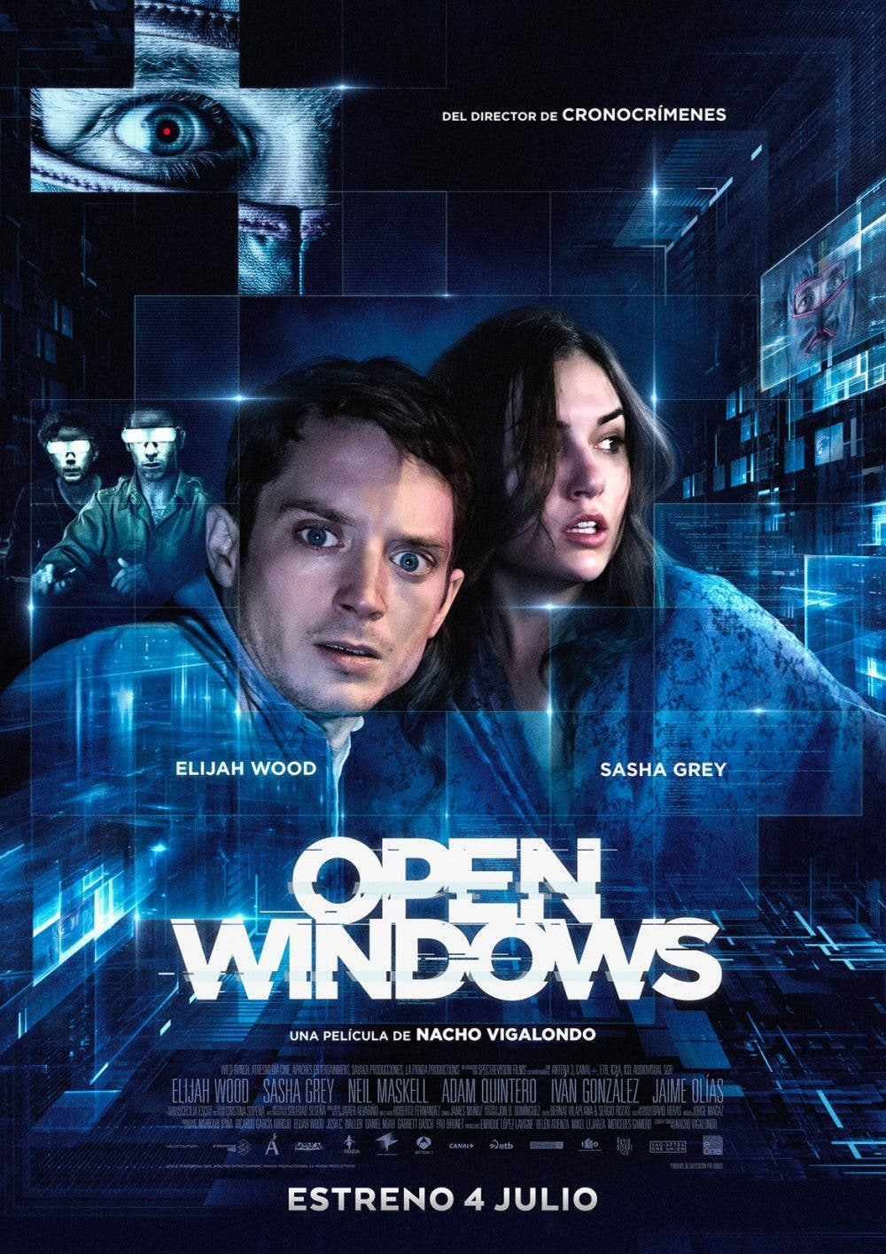 poster final de Open Windows