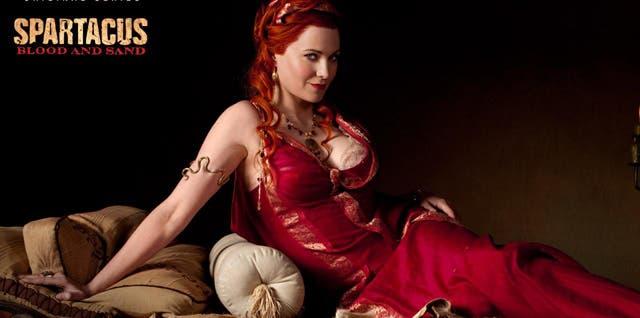 Lucy Lawless en Spartacus