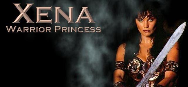 Lucy Lawless en Xena, la princesa guerrera
