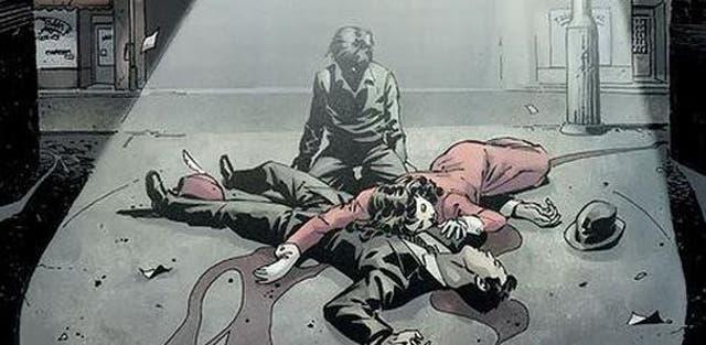 La muerte de los padres de Batman