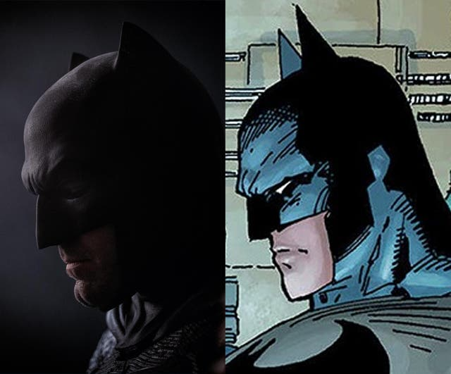 Comparativa de traje de Ben Affleck con el Batman de Jim Lee