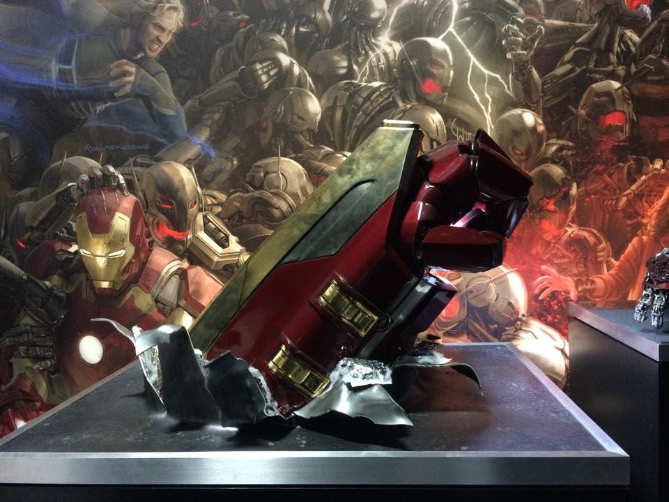Brazo Hulk Buster de Iron Man