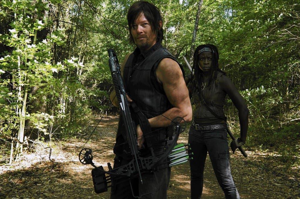 Daryl Dixon y Michonne