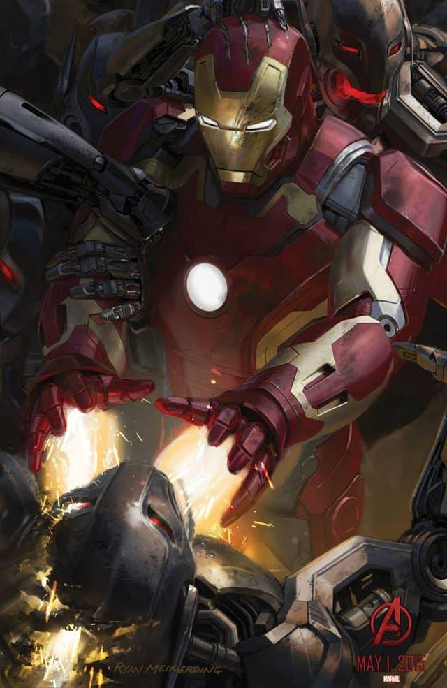 Iron Man en Los Vengadores: La era de Ultron