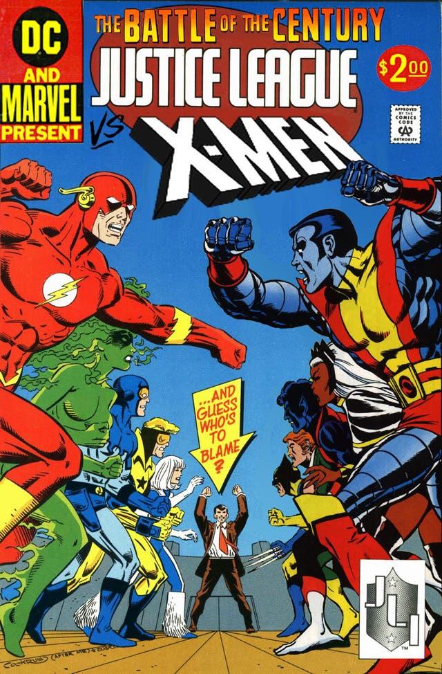 ¿Habrá película de Liga de la Justicia vs X-Men?