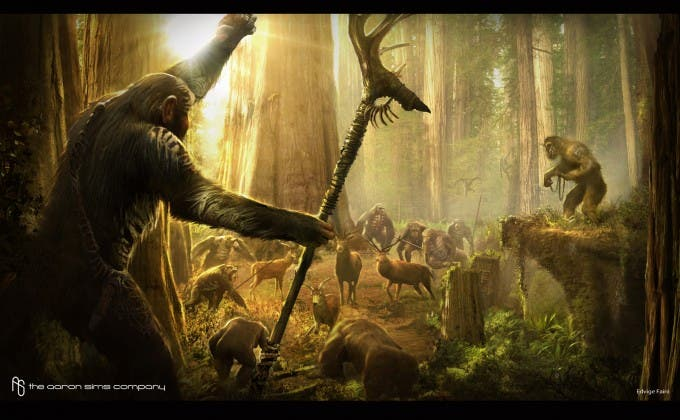 Concept art 'Dawn of the planet of the apes'
