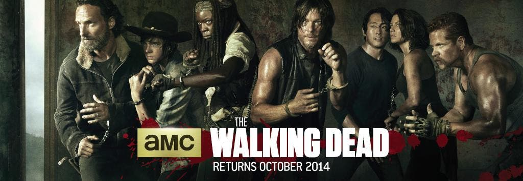 Primer poster de la quinta temporada de The Walking Dead