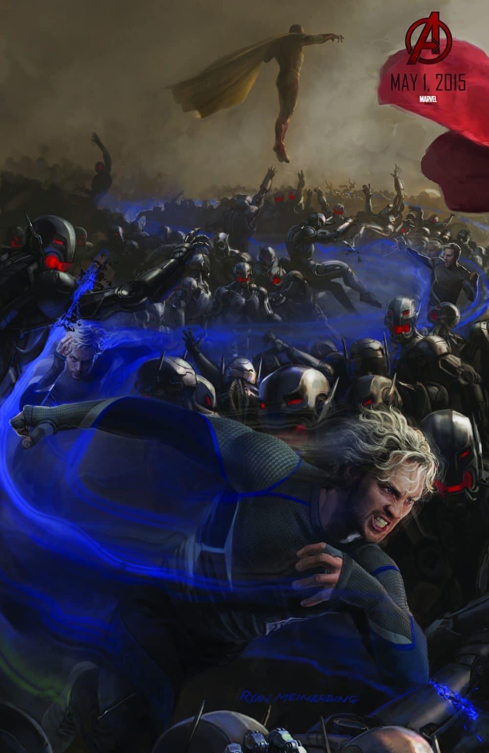 Quicksilver resucitará en Vengadores: Infinity War (2018)